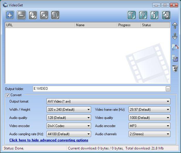 gratuitement videoget 3.0.2.49