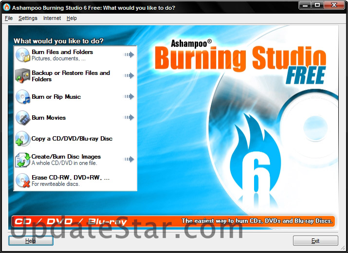 Ashampoo Burning Studio FREE 6.8.3