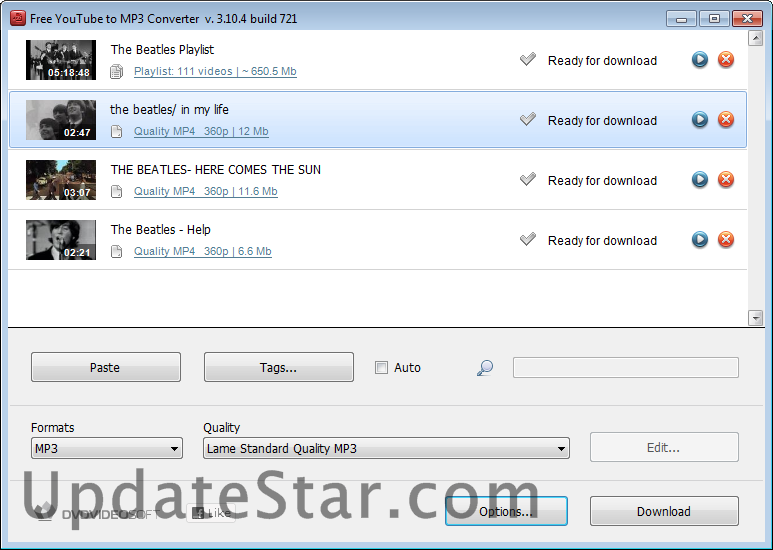 Free YouTube to MP3 Converter 4.3.23.722