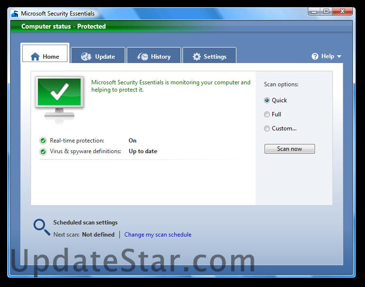 Microsoft Security Essentials 4.10.209.0