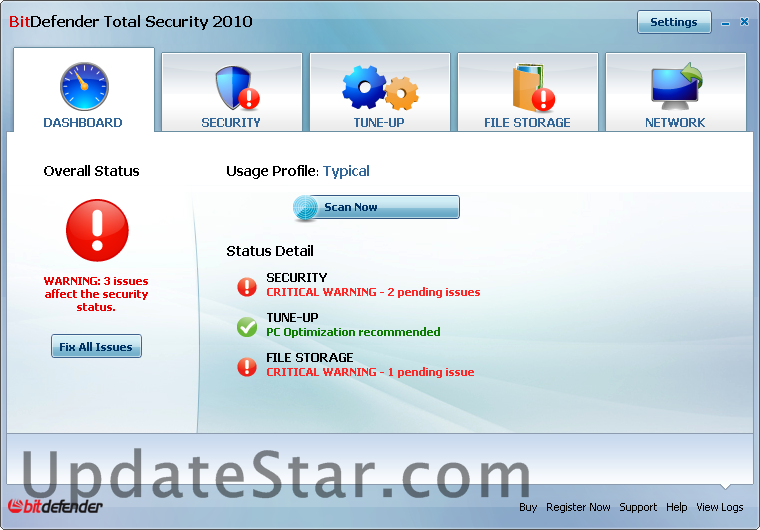 BitDefender Total Security 2015 23.0.10.34