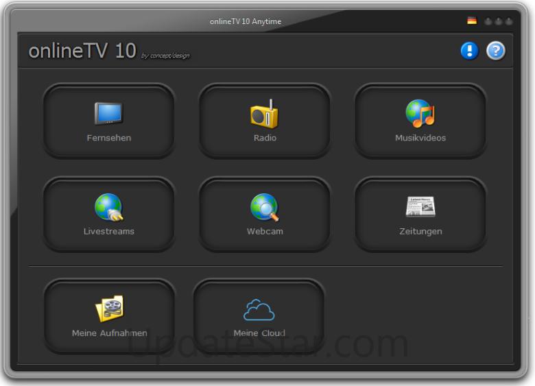 concept/design onlineTV 15.18.12.1