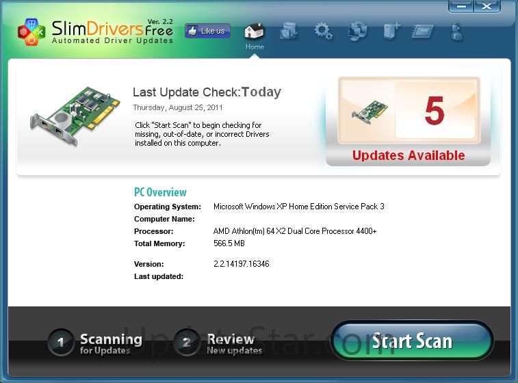 SlimDrivers 2.3.2.0