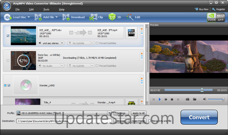 AnyMP4 Video Converter Ultimate 7.2.60