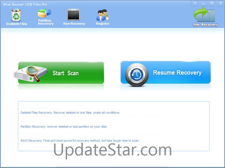 Wise Recover USB Files Pro