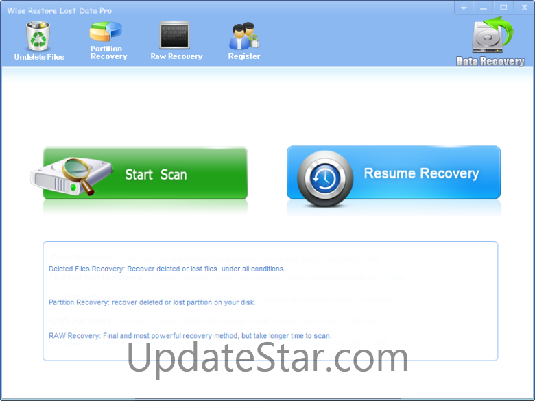 Wise Restore Lost Data Pro