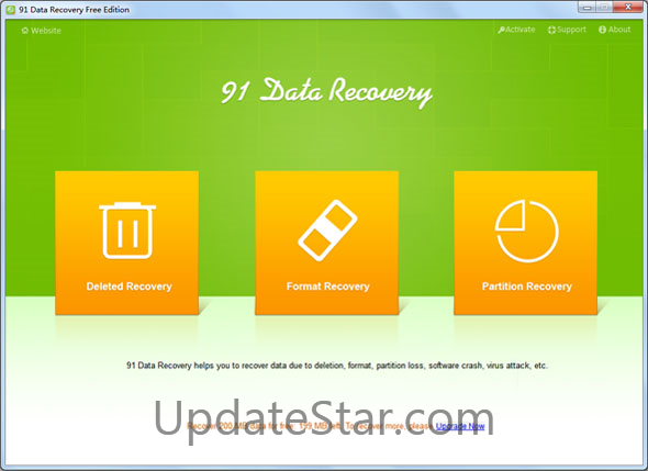 91 Data Recovery for Windows