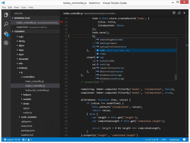 Visual Studio Code 1.30.0