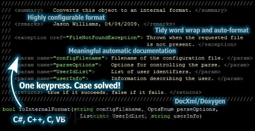 Atomineer Pro Documentation 10.10