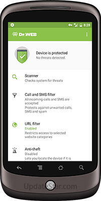 Dr.Web Mobile Security for Android 12.5