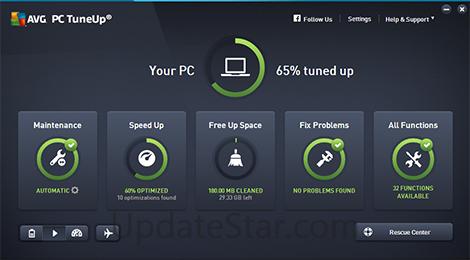 AVG PC Tuneup 16.79.3.36215
