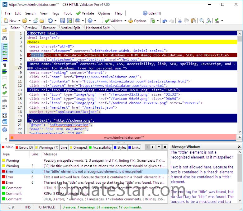 CSE HTML Validator Professional 18.400