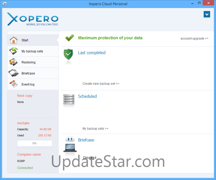 Xopero Cloud Personal 4.0.0