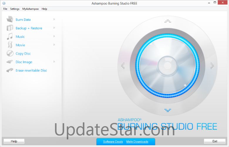 Ashampoo Burning Studio FREE 6.8.3