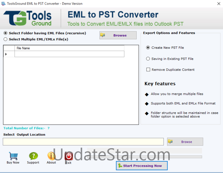 ToolsGround EML to PST Converter 1.0