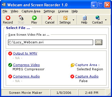 Webcam and Screen Recorder 8.0.450