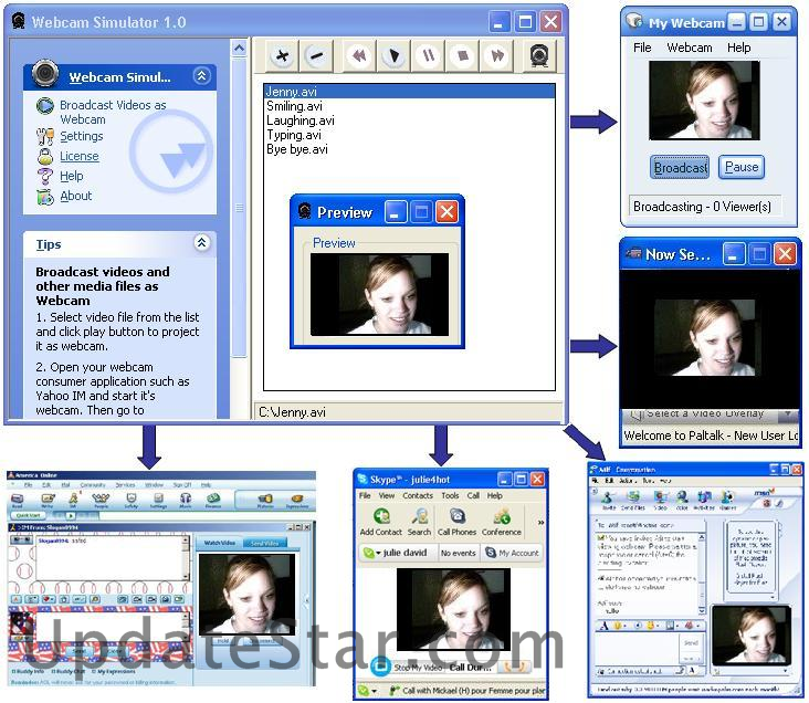 Webcam Simulator XP Edition 7.170