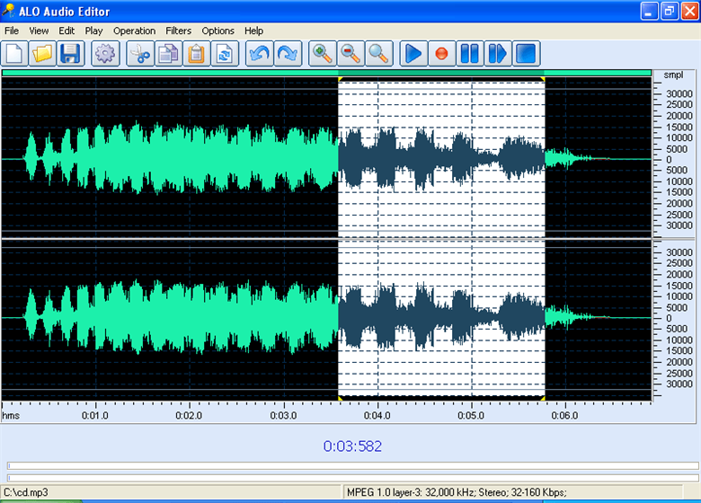 ALO Audio Editor 3.3.599