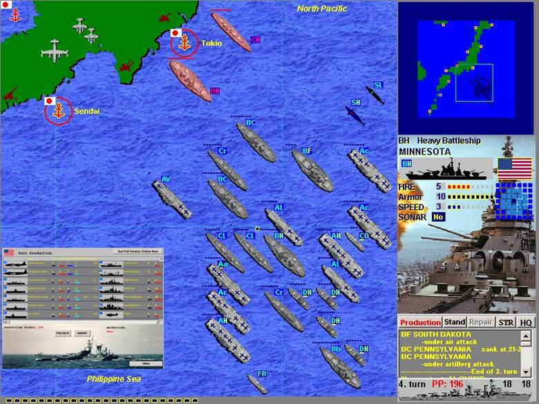 Battlefleet: Pacific War 2.73