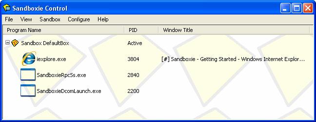Sandboxie 5.31.4
